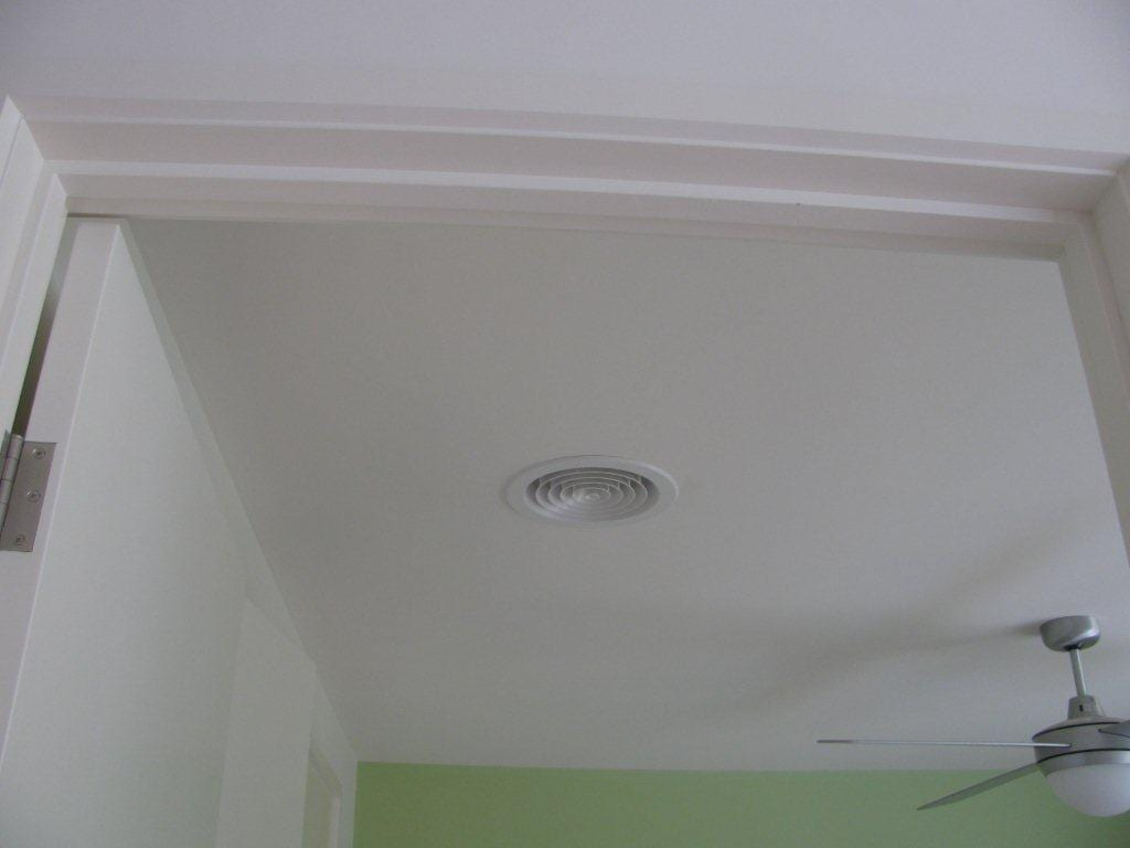 Ceiling Vent for Solar Fan Installation