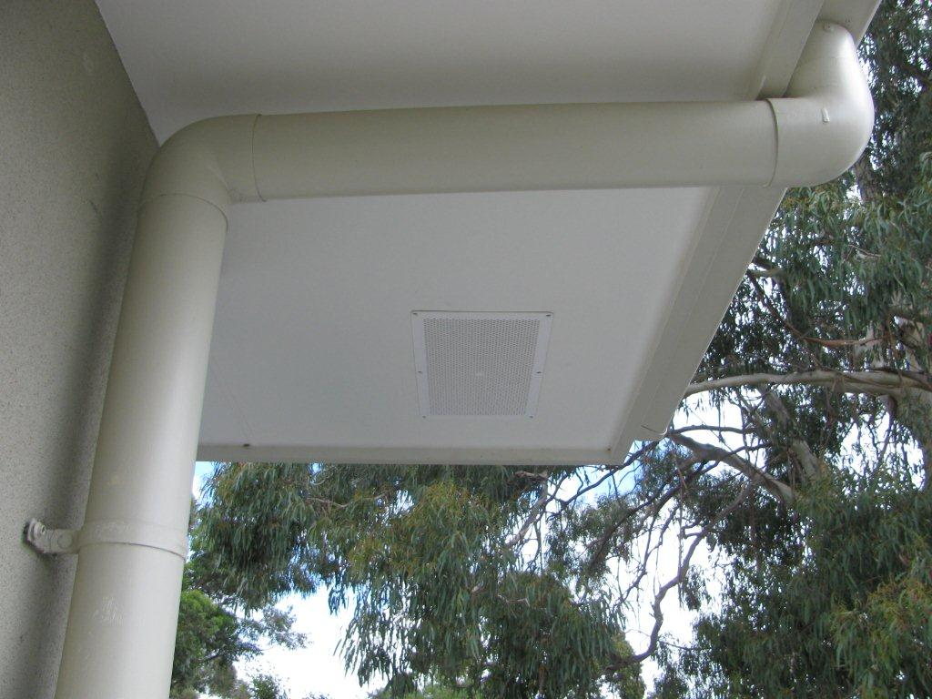 whirly bird Eave vent