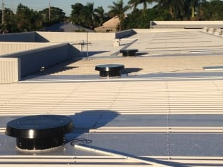 Commercial Exhaust Fans Roof Installation