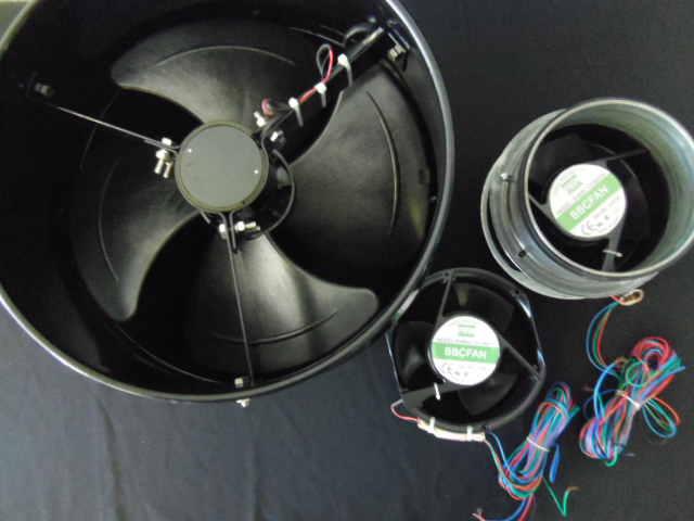 In Line Fans - solar ventilation 3 Units