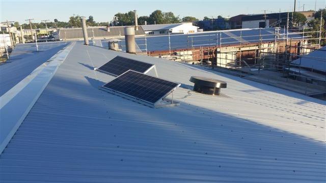 Sunshine Skylights warehouse ventilation