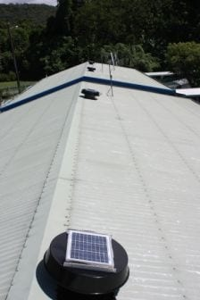Solar Roof Ventilation-Retirement village-commercial ventilation-age care