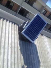 Industrial ventilation fan for commercial cooling & heat extraction for office