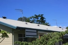 Commercial ventilation for age care facility - effective solar cooling