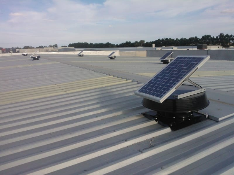 Industrial Ventilation Whirlybird alternative for factory ventilation & cooling