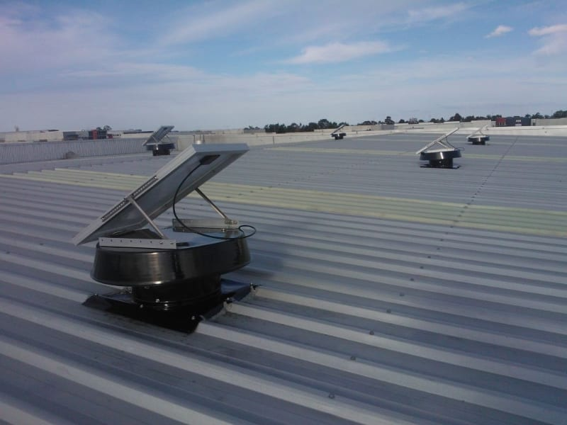 Industrial Factory Ventilation - Whirlybird Alternative for commercial ventilation