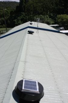 Roof cooling is a must in Far North Queensland - all year round
