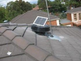 Exhaust fans commercial exhaust fans home ventilation - Solar powered bathroom exhaust fan ...