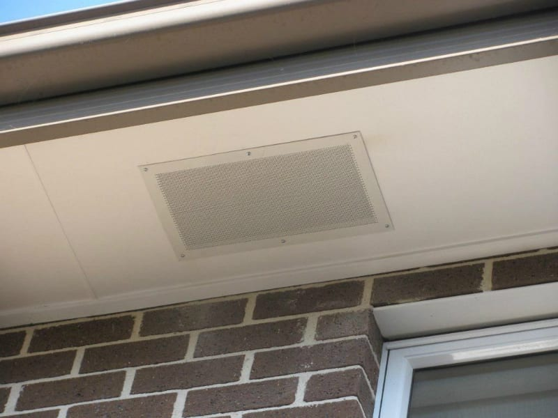 Eave Vents Are Important For Efficiency Of Extractor Fan
