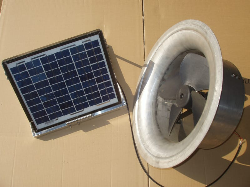 Solar Whiz Gable Mounted roof ventilation 19