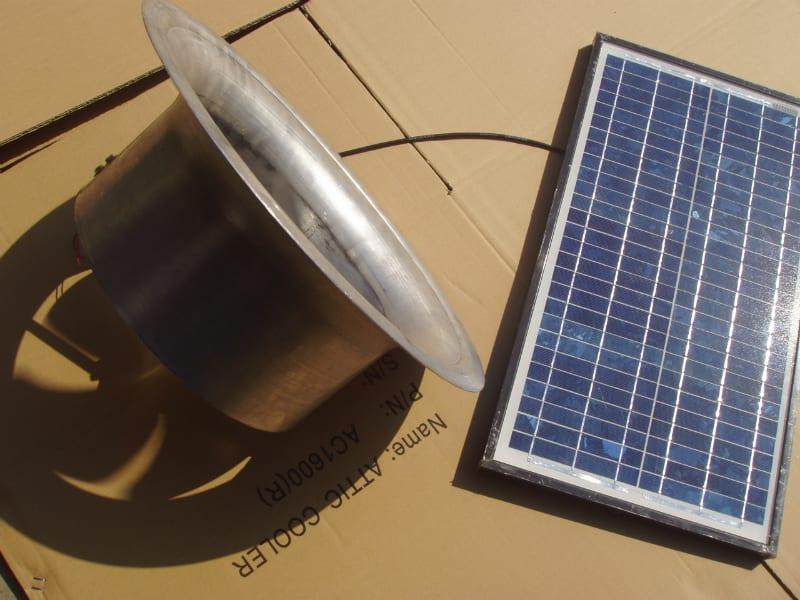 Solar Whiz Gable Mounted roof ventilation 18