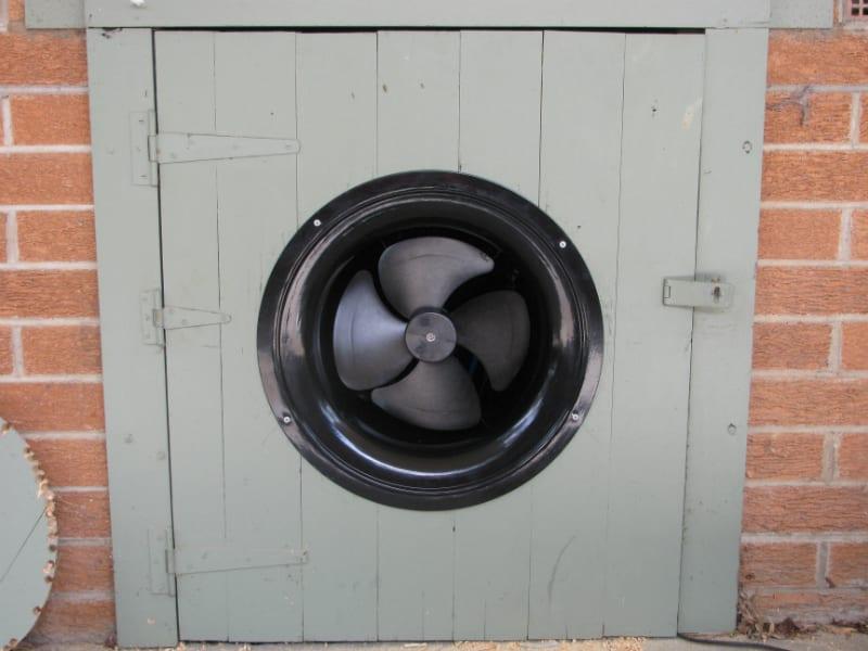 Gable Fan Installation Roof Ventilation 3