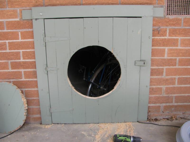 Gable Fan Installation Roof Ventilation 4