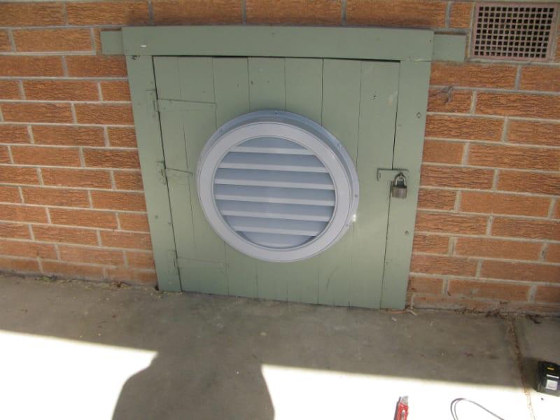 Gable Fan Installation Roof Ventilation 6