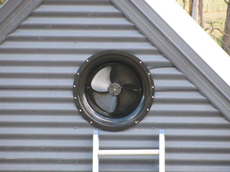 Gable Fan Installation Roof Ventilation 10