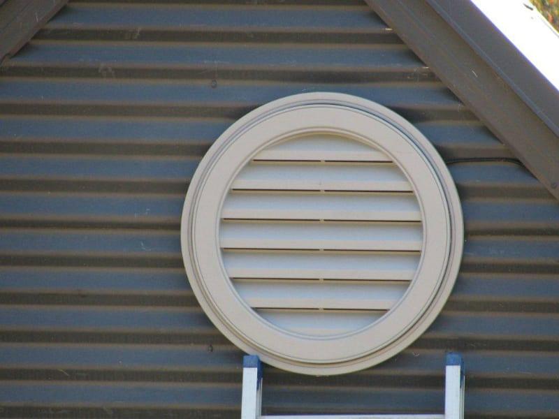 Gable Fan Installation Roof Ventilation 12