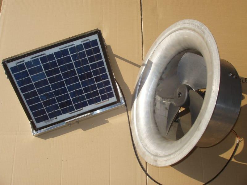 Gable Fan Installation Roof Ventilation 16