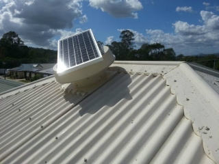 Solar Ventilation System for Asthma Management