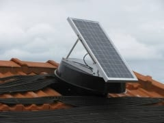 Solar Roof Ventilation, Remove heat through solar