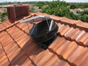 efficient solar whiz roof ventilation unit sw 900