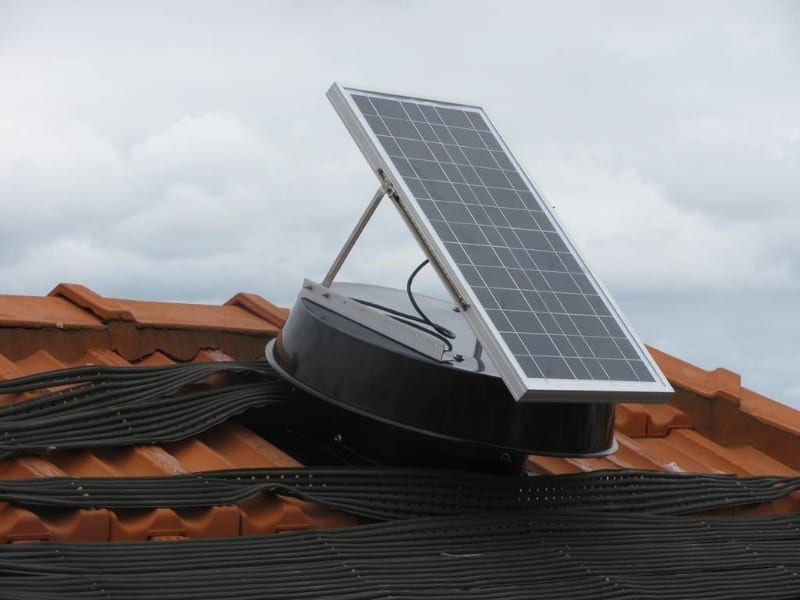 efficient solar whiz roof ventilation unit sw 900