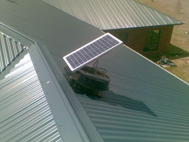 Solar Roof Ventilator : Solar whiz roof ventilation whirlybird
