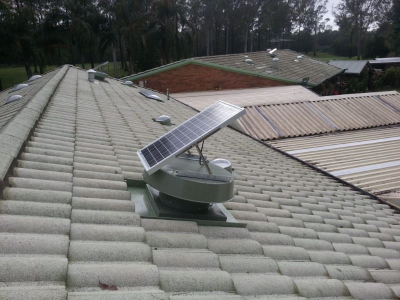 House Roof Ventilation : Roof ventilation with vents ventilators