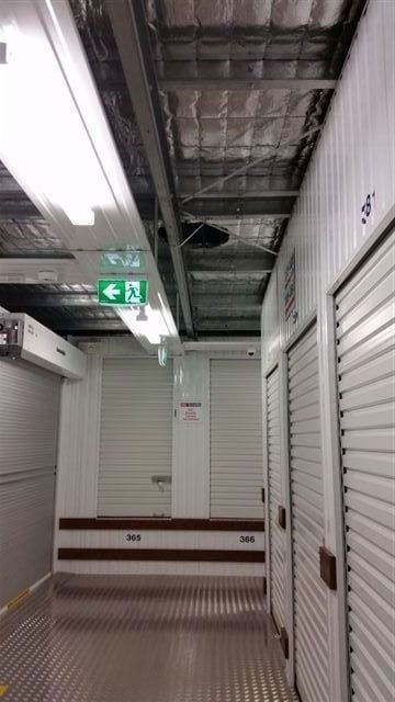 Inside self storage ventilation