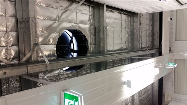 Soalr Whiz self storage ventilation