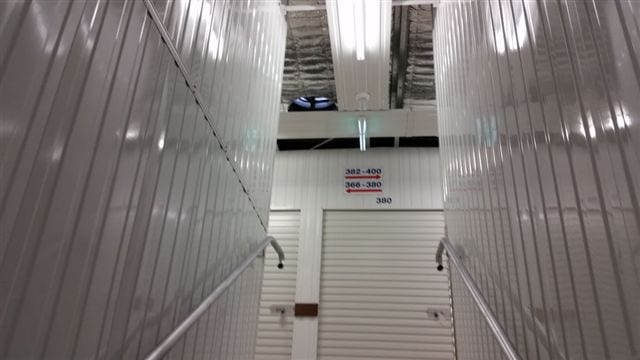 Inside storage facility ventilation