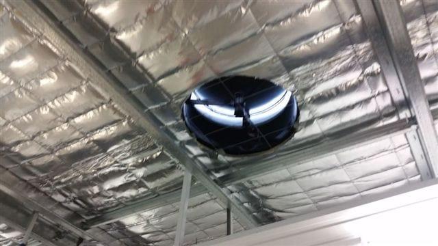 Solar whiz storage ventilation