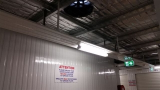 Storage facility ventilation