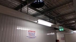 Storage facility ventilation