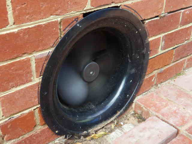 High capacity Subfloor Ventilation Fan