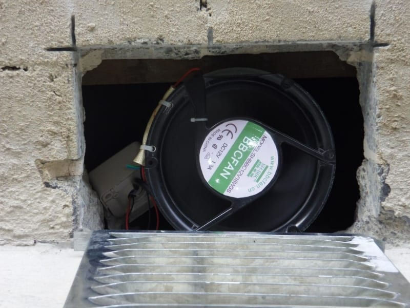 Subfloor Ventilation Fan / Underfloor Ventilation Fan