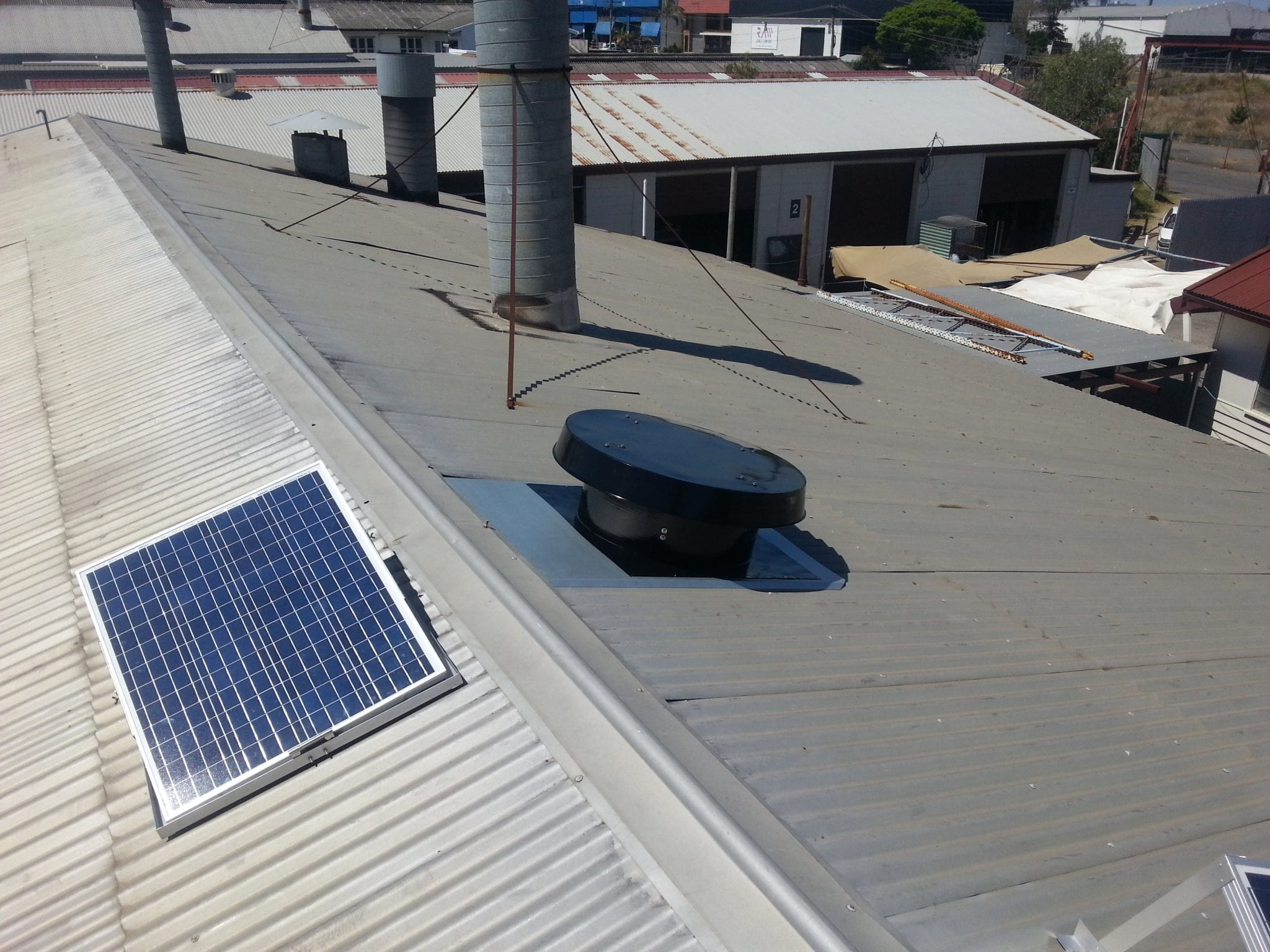commercial exhaust fans solar whiz