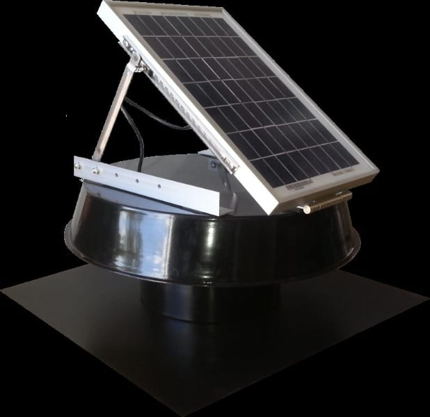 Solar Ventilation and solar cooling for cabins portables mobile homes etc.