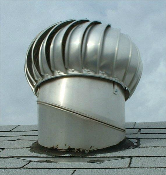 Turbine Roof Ventilators : Whirlybird guide solar whiz is better find out why