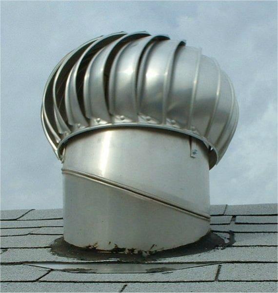 Solar whirlybirds roof whirlybird solar whiz for Attic air circulation
