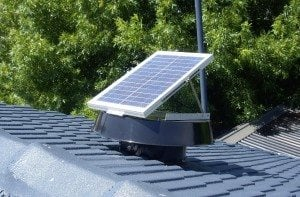 Solar Whiz units are great for restaurant ventilation