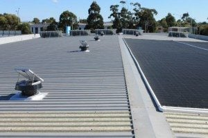Swim School solar whiz installation