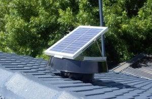 Solar Whiz tile roof