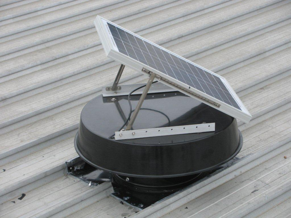 solar whirlybird ventilation system