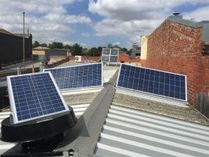 Solar Ventilation Roof