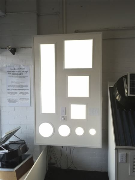 Solar Whiz On Display Solar Ventilator Showroom