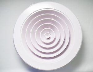 200mm ceiling vent
